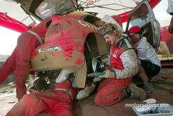 Trabajando en el Citroën Xsara