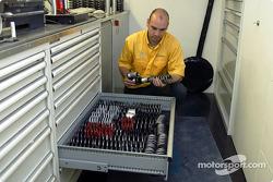 Blick in die Opel-Box