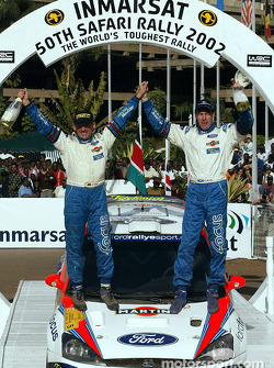 Colin McRae und Copilot Nicky Grist