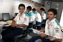 Team Sauber crew members