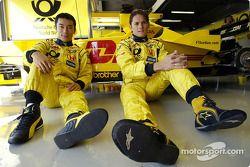 Takuma Sato ve Giancarlo Fisichella