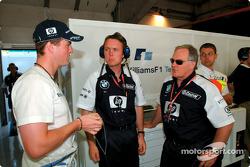 Ralf Schumacher et Patrick Head