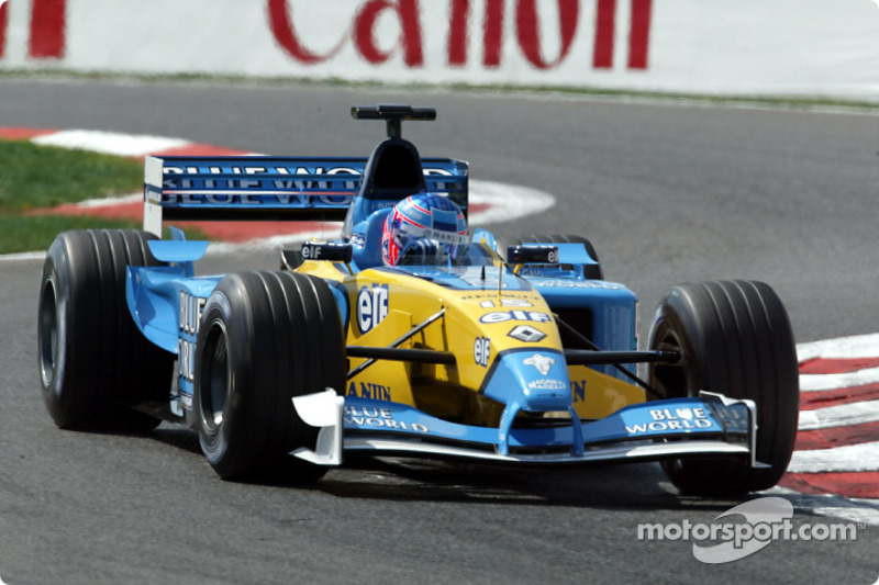 Jenson Button, Renault R202, 2002