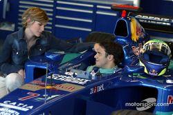 Felipe Massa charming company