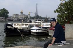 Visita a París con Felipe Massa