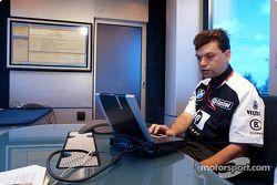 Team Williams-BMW Web chat ve fans
