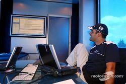 Team Williams-BMW Web chat ve fans: Juan Pablo Montoya