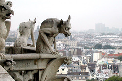 Linda vista de París