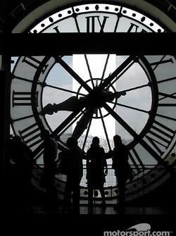 Viendo a través del reloj en el Musée d'Orsay