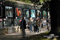 Photo expo, Jardin du Luxembourg