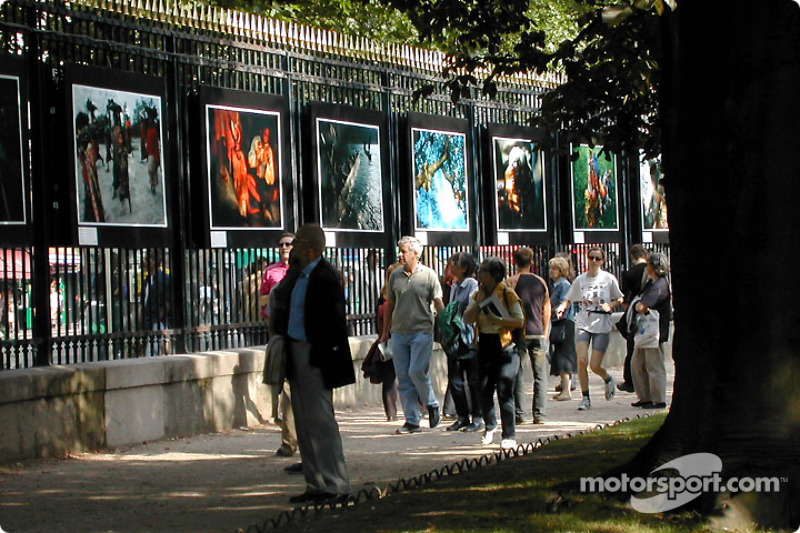 Photo expo at Jardin du Luxembourg