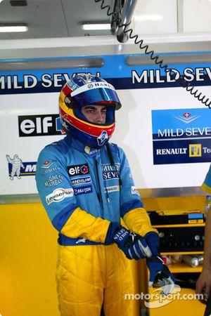 Fernando Alonso anunciado como el piloto para el Equipo Renault F1 en 2003