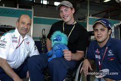 Peter Sauber, Felipe Massa y un nuevo aficionado