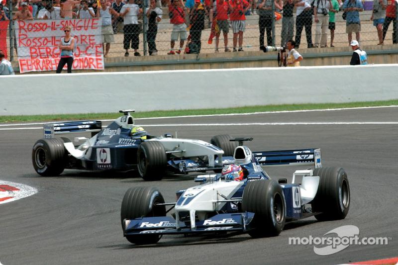 Хуан-Пабло Монтойя та Ральф Шумахер, обидва - Williams BMW