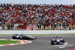 Juan Pablo Montoya, Williams, Ralf Schumacher, Williams