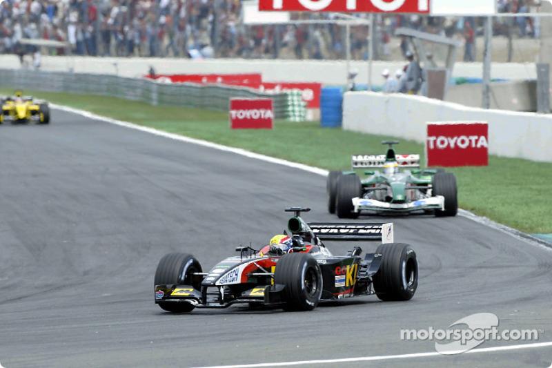 Марк Веббер, Minardi Asiatech