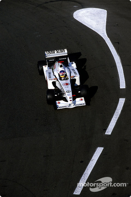 Jacques Villeneuve during the morning warmup