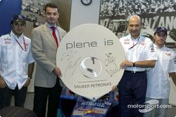 A new technical partner for Sauber: Bonn-based Plenexis