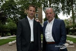 Jenson Button et David Richards