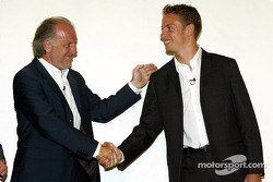 David Richards y Jenson Button