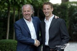 David Richards et Jenson Button