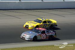 Kevin Harvick and Dave Blaney