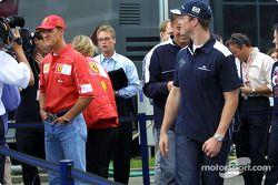 interview TV pour Michael et Ralf Schumacher