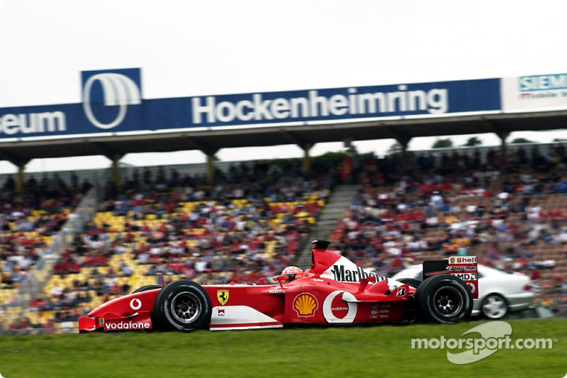 2002 German GP, Ferrari F2002