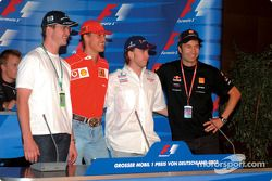 Thursday FIA press conference: Ralf Schumacher, Michael Schumacher, Nick Heidfeld and Heinz-Harald F