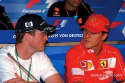 Thursday FIA press conference: Ralf Schumacher and Michael Schumacher