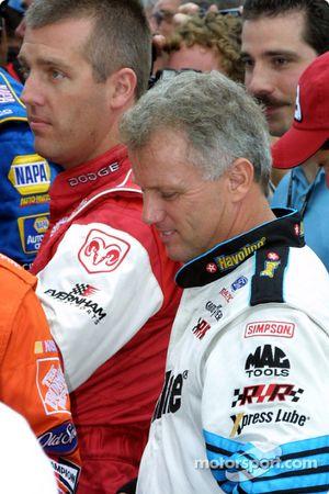 Jeremy Mayfield y Ricky Rudd