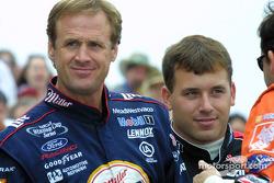 Rusty Wallace et Ryan Newman