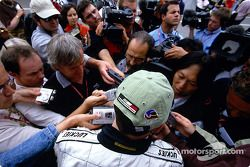 Interview pour Jacques Villeneuve