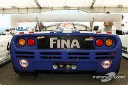 l'arrière de la McLaren F1