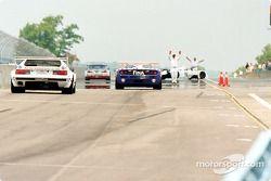 BMW demo retourne dans la fosse