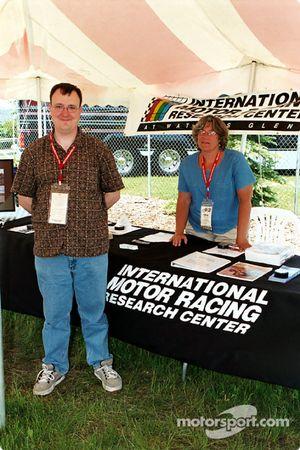 Mark et Glenda de l'IMRRC