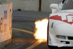 retour de flamme sur la Corvette de Stuart Hayner