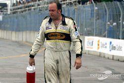 Une course difficile pour Claudio Burtin