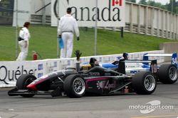 Race winner Michael Valiante