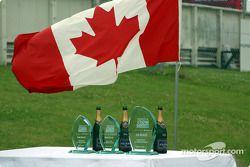 Champagne et trophées