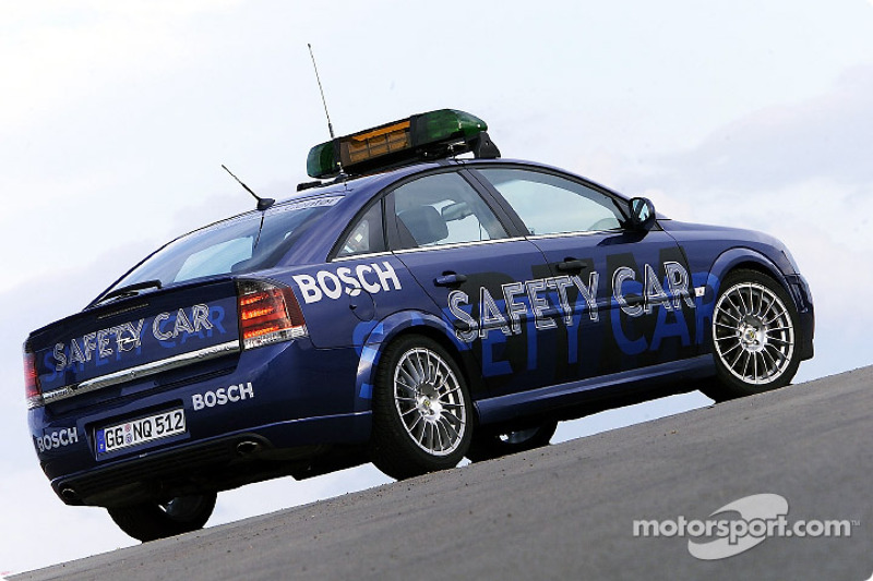 Opel Vectra GTS als Safety-Car