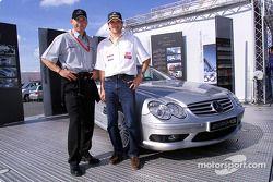 Uwe Alzen and F3 driver Markus Winkelhock