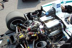 Champion Racing Audi paddock area