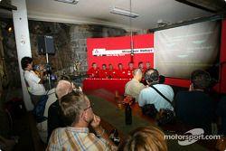 Lancementde la Mitsubishi Lancer Evolution WRC3