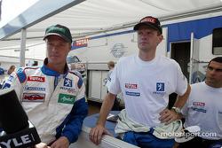 Harri Rovanpera y Marcus Gronholm