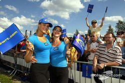 Chicas de promoción Subaru