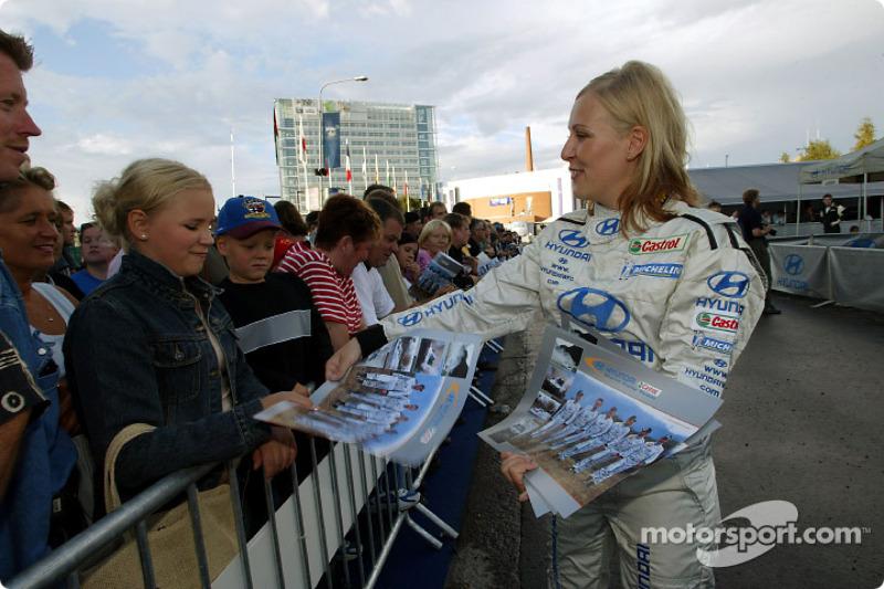 Chicas del Hyundai World Rally Team