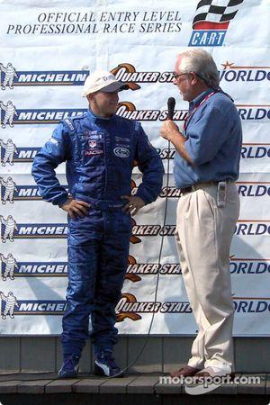 Champion 2003 du Barber Pro Series A.J. Allmendinger