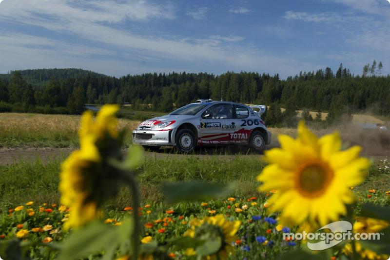 12. Rally de Finlandia 2002: 121,80 km/h