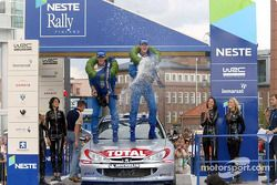 Champagne for Marcus Gronholm